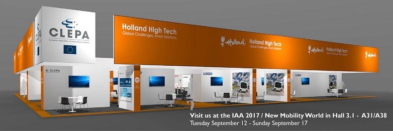 AND at Holland High Tech - IAA2017